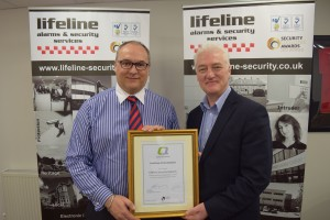 Lifeline Security secure Quality In Business Award