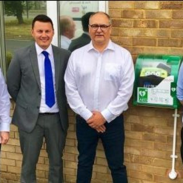New community access defibrillator installed
