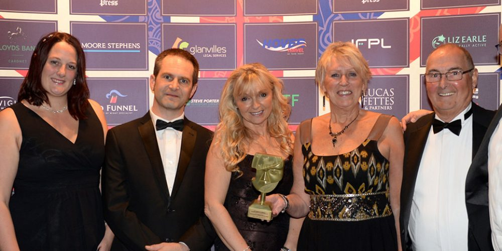 Double celebrations! Lifeline win two Chamber Awards for Business Excellence